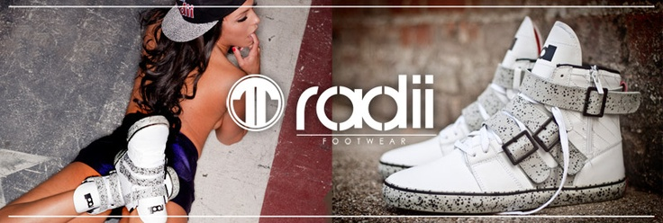 Radii Shoes and Hats - Mix and Match      http://www.youtube.com/watch?v=MjqKV0PqLBc          Radii sneakers and hats - find your match - http://www.youtube.com/watch?v=MjqKV0PqLBc
