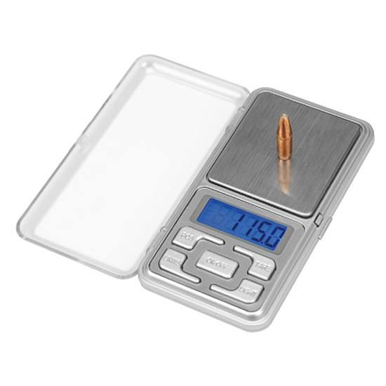 Frankford Arsenal DS-750 Digital Reloading Scale 750 Grain Capacity LCD Display with Blue Blacklight