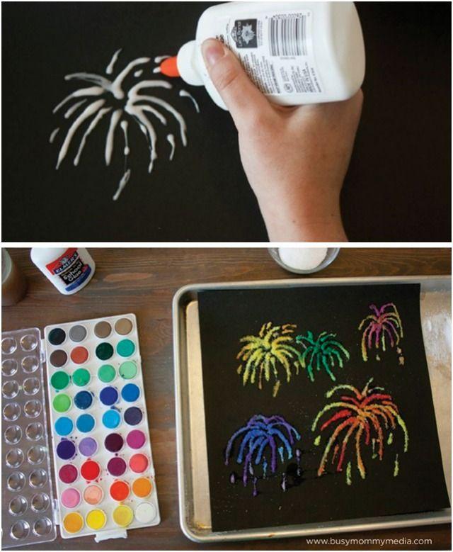 DIY Salt Painting