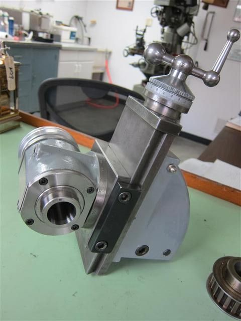 Schaublin 102 W20 Milling Attachment Complete With