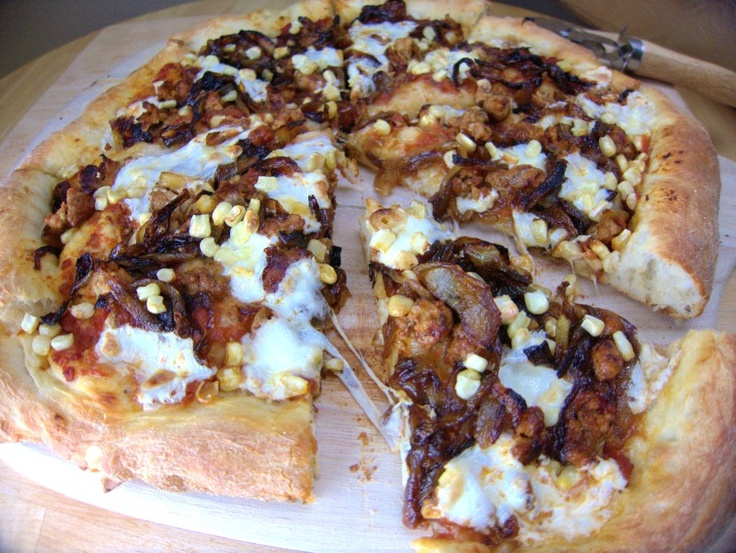 Wild boar, Roasted corn and Pizza on Pinterest