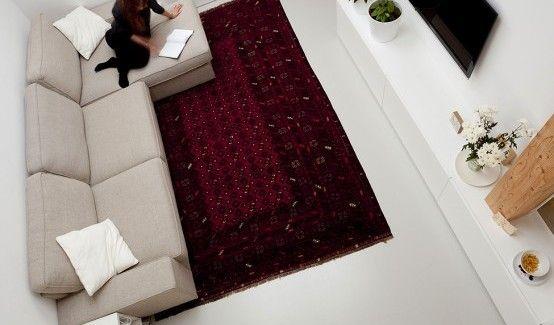 tolles kleines Schlafzimmer Design in ein flaches kleines Schlafzimmer Innenarchitektur gemütlich flach Homesthetics 1