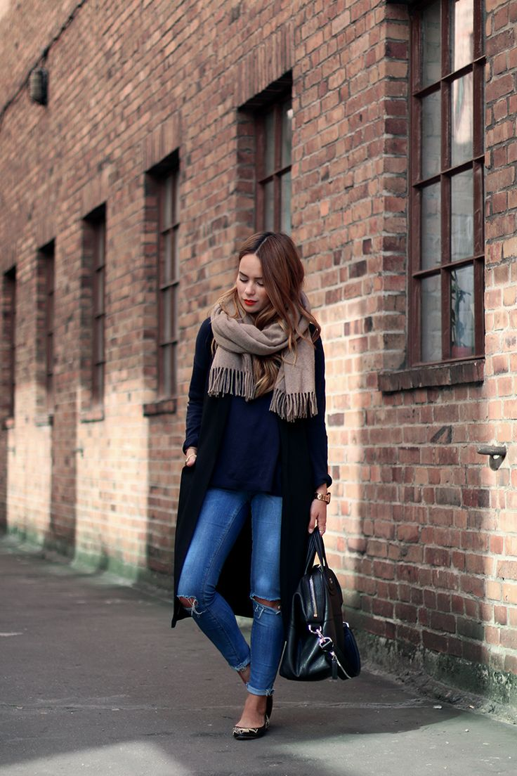 teetharejade » Blog Archive Outfit: New it-piece in my wardrobe - The long Vest - teetharejade