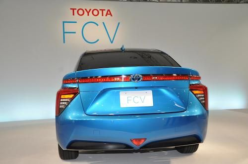 Toyota Fuel Cell Vehicle -- US arrival summer 2015.