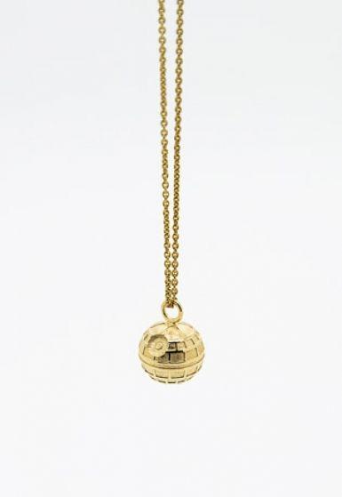 MALAIKARAISS - Death Star necklace (fine jewelry version)