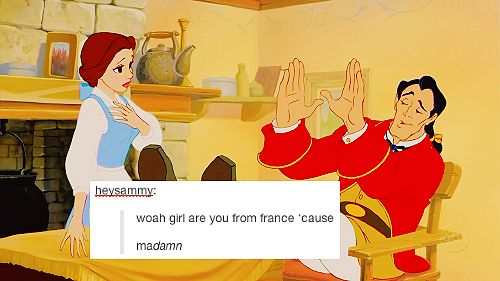 This actually isn't a bad pickup line (disney + text posts)