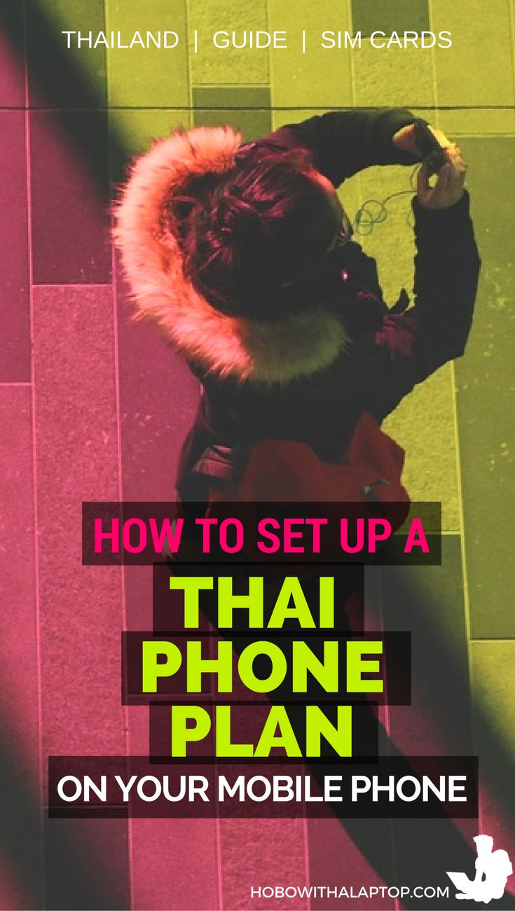How to setup a mobile phone in thailand amazing places for Thailand mobel