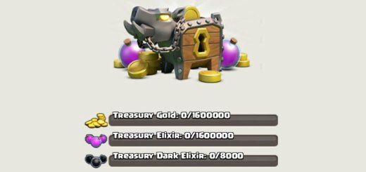 Clash of Clans Treasury - Clash of Clans Guide http://clashcrunch.com/