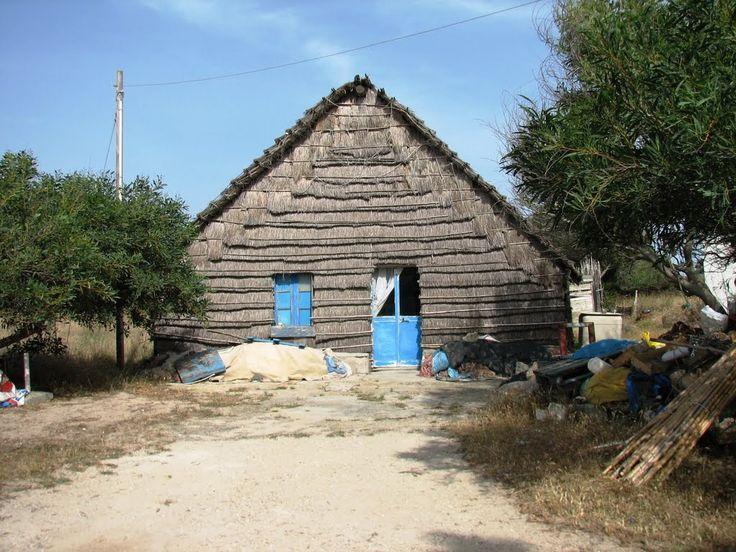 Penisola del Sinis - capanna di falasco