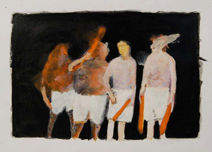 In admiration of fledging artist, Tony Bragg's beginnings in painting & drawing. He is studying his MFA at Rhode Island School of Design. See Blogroll for a link.   Decanted: