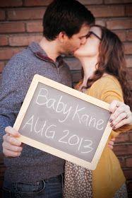 make bake & love: Pregnancy Announcement Photo Shoot