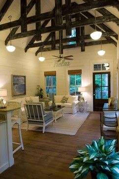 Elegant Shotgun House Decorating Ideas | Houzz   Home Design, Decorating And Remodeling  Ideas And Inspiration