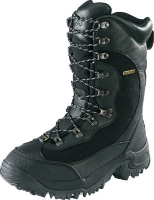 "We challenge you to find boots more capable of taking on the worst that winter can throw at you for less money.  Height:  12"".  Average weight:  5.7 lbs./pair.  Men's whole sizes:  8-14.   Color:  Black."