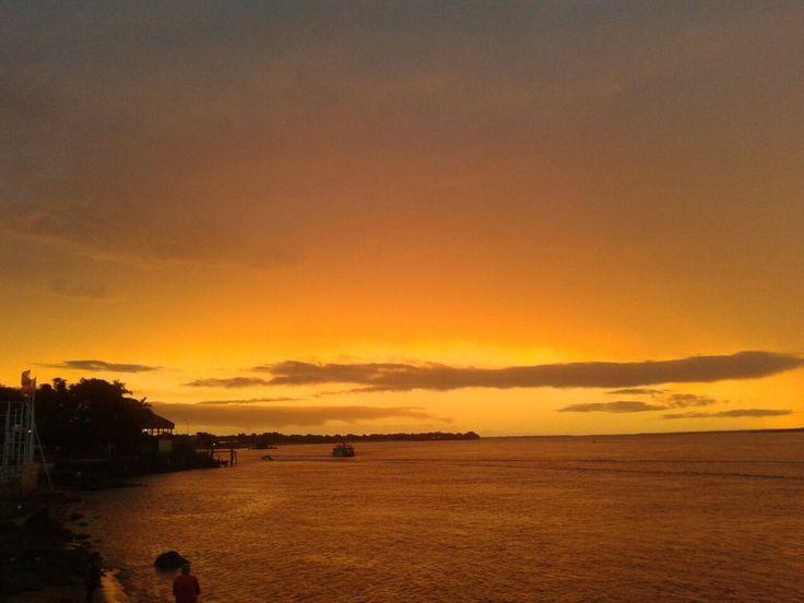 Atardecer en Paso de la Patria, #Corrientes  #ArgentinaEsTuMundo #Argentina #Tourism #travel #paisaje #atardecer #sunset