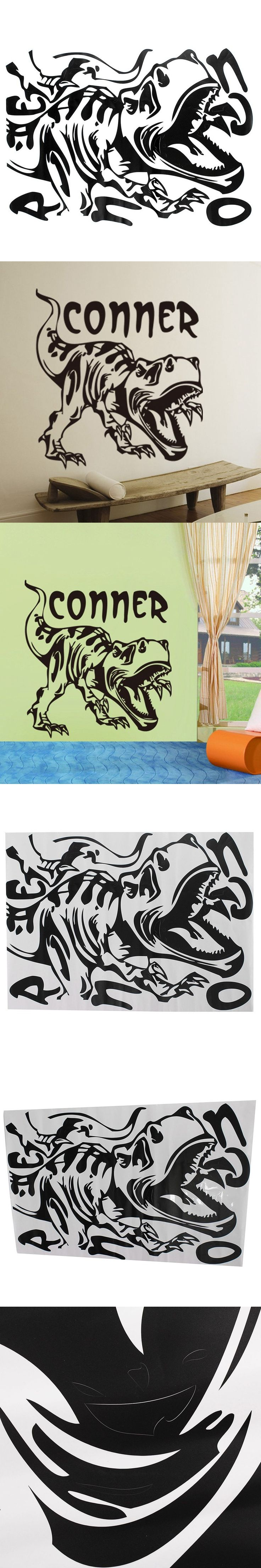 70 best diy dinosaurs images on pinterest dinosaur party hot sale removable vinyl dinosaur wall sticker wallpaper mural diy art kids bedroom nursery home decor