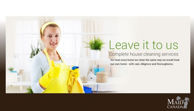 Enter to win 4 x 2 hour visits of Maid Cleaning Services from Maid Canada