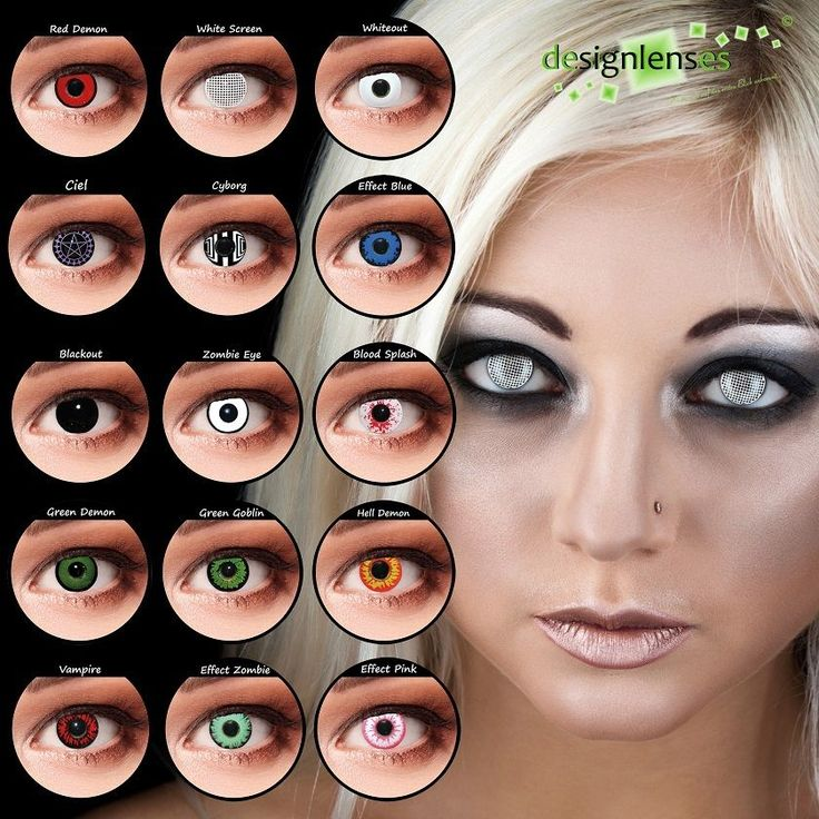 Designlenses 169 Colored Contact Lenses Crazy Lenses Vampire