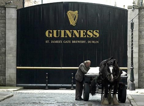 I'd love to visit the Guinness Brewery in Dublin, Ireland someday.