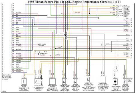 Super Ecu Pinout Del Nissan Ga16De Ga16Dne Diagramas Electricos Wiring 101 Cominwise Assnl