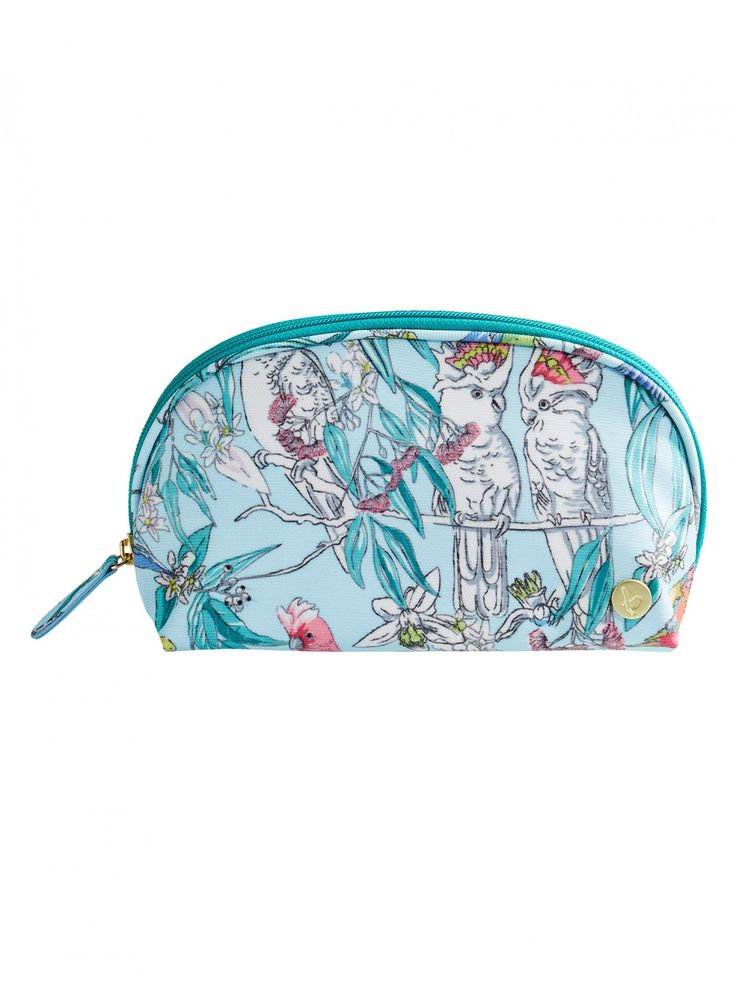 Birds & Blossoms Small Toiletry Bag