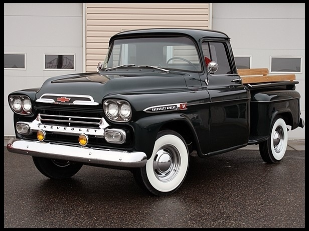 1959 Chevrolet Apache Pickup. ....Like going fast? Call or click: 1-877-INFRACTION.com (877-463-7228) for local lawyers aggressively defending Traffic Tickets, DUIs and Suspended Licenses throughout Florida