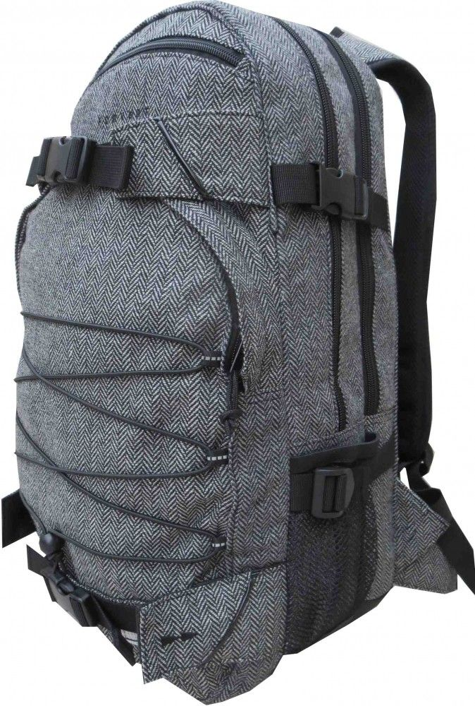 Forvert Rucksack Laptop New Louis flannel grey www.endless-skate.de