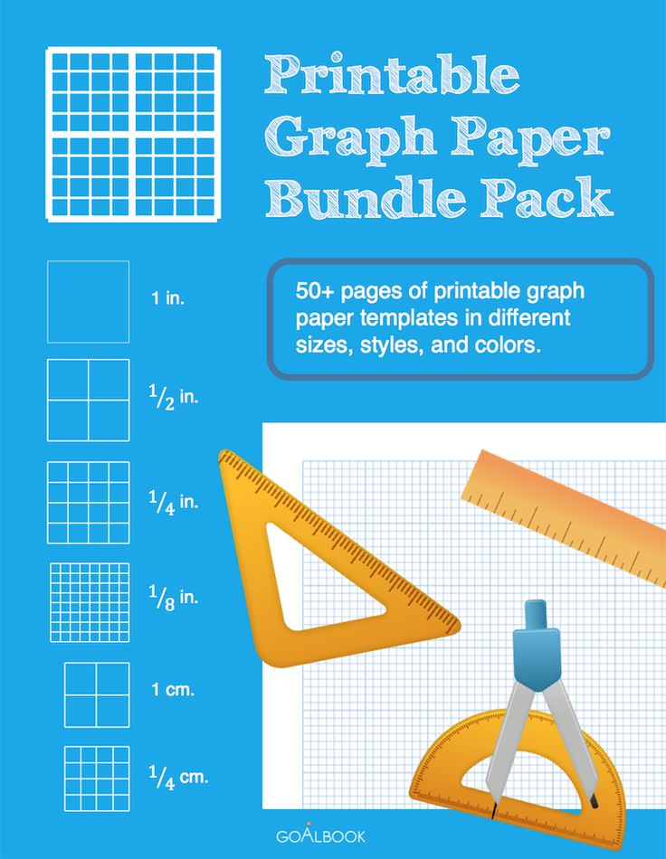Graph paper in Word Doc format - packet includes 50+ templates in