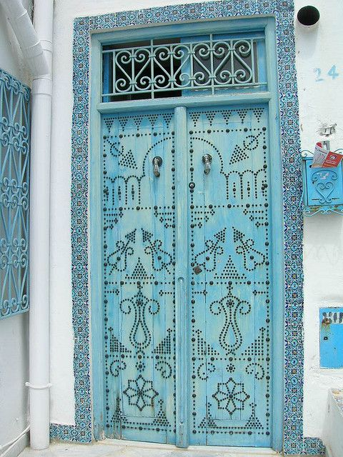 metal work & tile inspiration - Tunisia