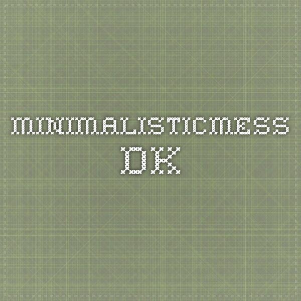 minimalisticmess.dk