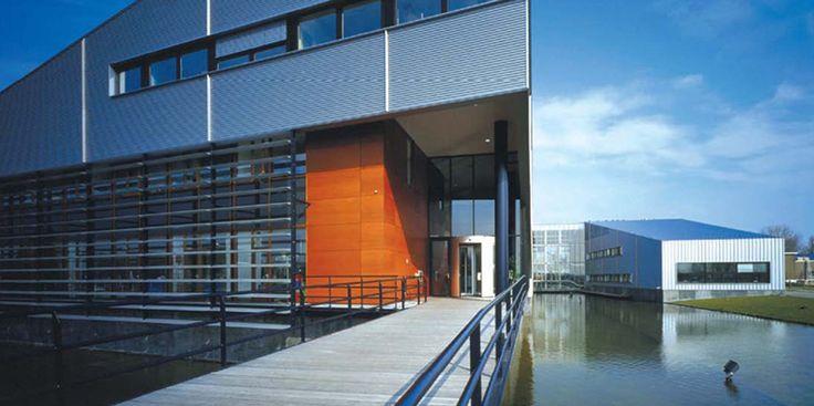 Architectonisch ontwerp i.o.v. Waterschap Friesland (BGD, gerealiseerd 1998)