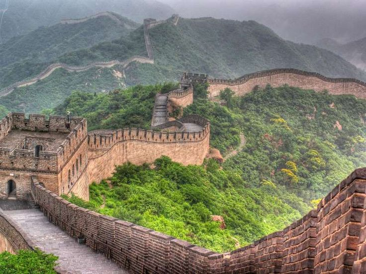 The 2,000-year-old Great Wall of China stretches more than 13,000 miles from east to west. - Yuri Yavnik/Shutterstock
