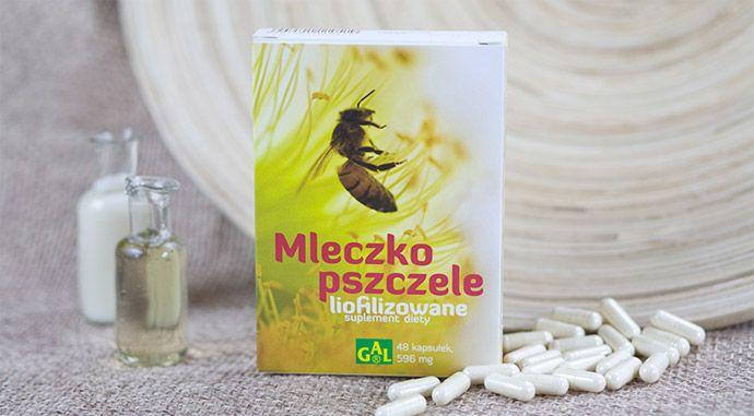 MLECZKO PSZCZELE LIOFILIZOWANE // Mleczko pszczele wspomaga zdolność organizmu do wysiłku fizycznego i intelektualnego oraz działa wzmacniająco, wspierając naturalną odporność organizmu. Produkt zalecany jest pomocniczo w celu zwiększenia wydolności psychofizycznej oraz osłabienia organizmu a także  w  wspomaganiu  naturalnej odporności. http://www.gal.com.pl/produkty/suplementy-diety/mleczko-pszczele-liofilizowane.html