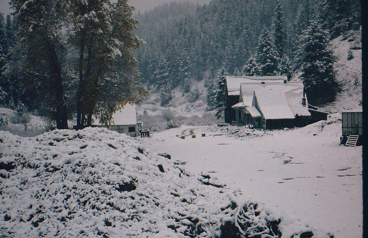Rocky Bar, Idaho - Winter Scene