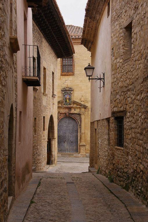 Mirambel, Teruel. En el Maestrazgo.