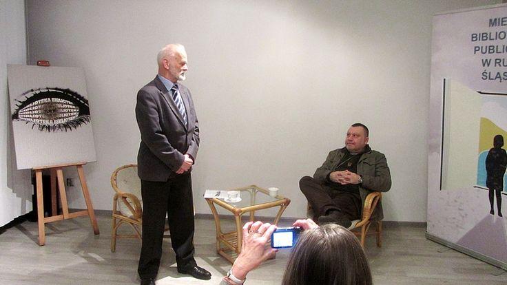 Gościem spotkania w Miejskiej Bibliotece Publicznej w Rudzie Śląskiej był, od kilkunastu lat związany ze Śląskiem, reżyser teatralny pan Grzegorz Kempinsky.
