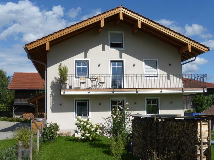 Satteldach Haus modern mit Erker Anbau & 4 Zimmer