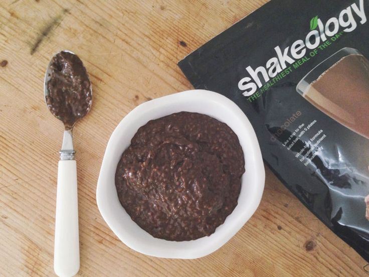 Chia Seed Pudding made with Shakeology. Recipe on the blog. Shakeology here: http://www.shakeology.com/where-to-buy?TRACKING=SOCIAL_SHK_PI