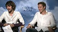 Lainey (ETalk) talks time travel with the cast of Cloud Atlas - James wants to go to 60's London and he likes Lainey's shoes ---  sorry, this video is gone