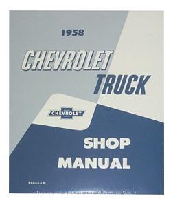 1958 SHOP MANUAL - COMPLETE