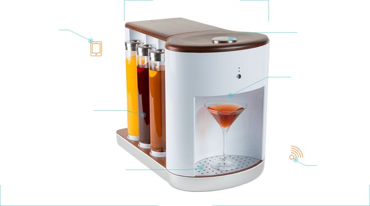 "Somabar | A ""personal bartender"" that will mix up your favorite cocktail on demand… and in under five seconds!"