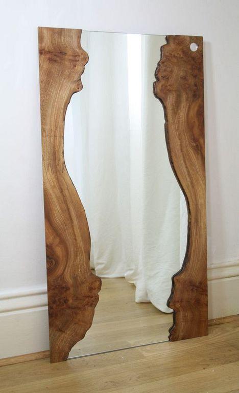20+ Stunning Mirror Frame Design Ideas From Wood – #design #Frame #IDEAS #miroir… #WoodWorking