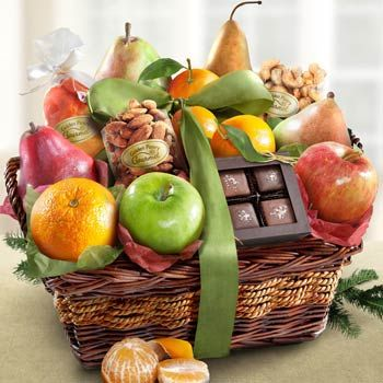 Gourmet Fruit Gift Basket.  See more at www.pro-gift-baskets.com!