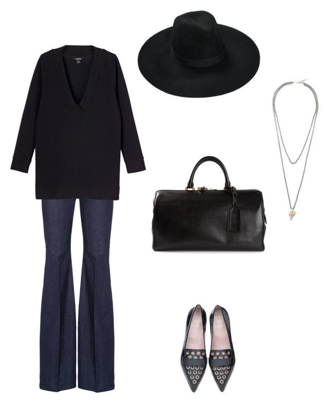 """Vibe"" by kitamode on Polyvore featuring Monki, CÉLINE and Givenchy"
