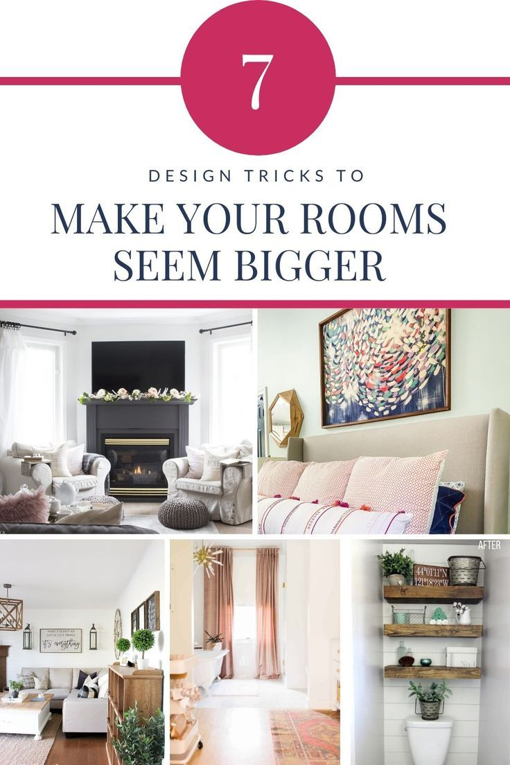 How To Make A Small Room Look Bigger 7 Awesome Tricks Kaleidoscope Living Small Room Paint Small Room Decor Small Room Design