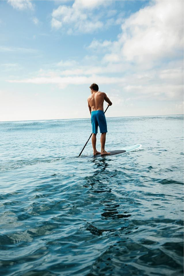The Best Summer Getaways: Stand-Up Paddleboarding