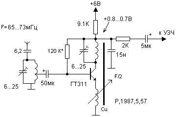 FM radio with Phase-locked loop circuit diagram в 2019 г