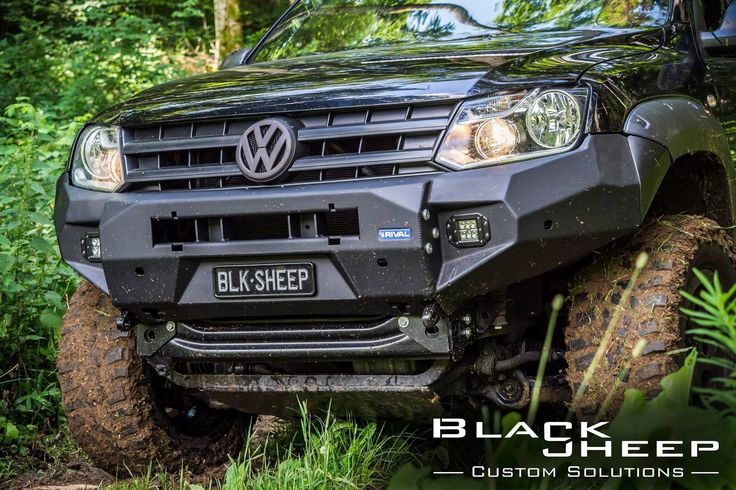 "Amarok ""Black OPS"" by www.blacksheep-innovations.com #amaroking #amarok #blacksheepinnovations #rival4x4"