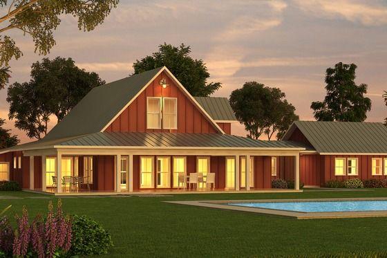 I Love this barn house / barndominium ideas. Really! #Barndominium #BarnHome #BarnHouse Tags: barn homes, barn home kits, barn homes for sale, barn home plans