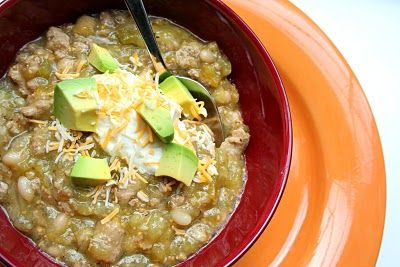 Turkey Chili Verde -- very low carb. Needs tomatillos (not something I ...