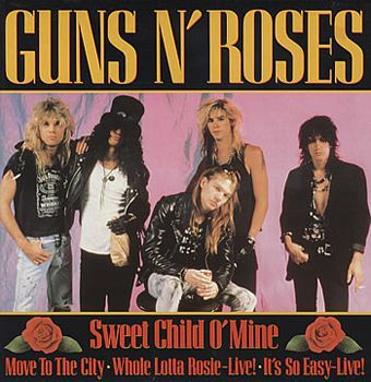 Sweet Child o' Mine - Guns N' Roses free piano sheet music and downloadable PDF.